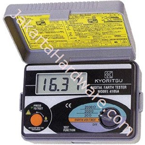 Picture of Earth Tester Kyoritsu 4105A Digital
