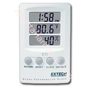 Picture of Hygro Thermometer Clock EXTECH  445702