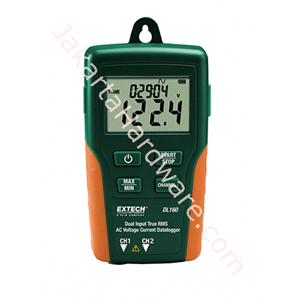 Picture of Dual Input True RMS AC Voltage/Current Datalogger Extech DL160
